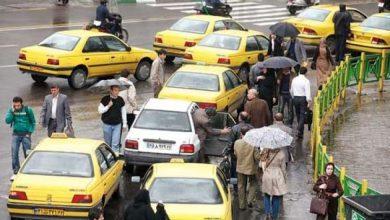 """توزیع """"برچسب نرخ کرایه تاکسی سال97"""" در منطقه21 تهران"""