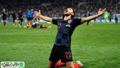 کرواسی برای نخستین بار فینالیست جام جهانی شد