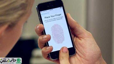 سنسور های اثر انگشت بر روی صفحه نمایش