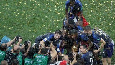 تصاویری زیبا از جشن قهرمانی فرانسه