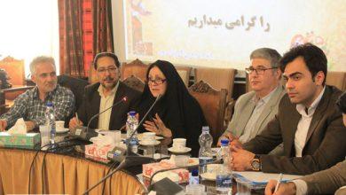 حضور مدیر مسئول گروه نشریات دانستنی در جلسه بررسی مسائل و مشکلات منطقه ۵ تهران