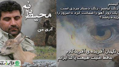 روز ملی محیط بان روزی برای تکریم حافظان زمین و طبیعت ایران