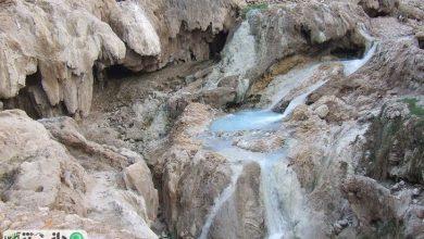 چشمه های آبگرم گنو در دل کوه های بندرعباس
