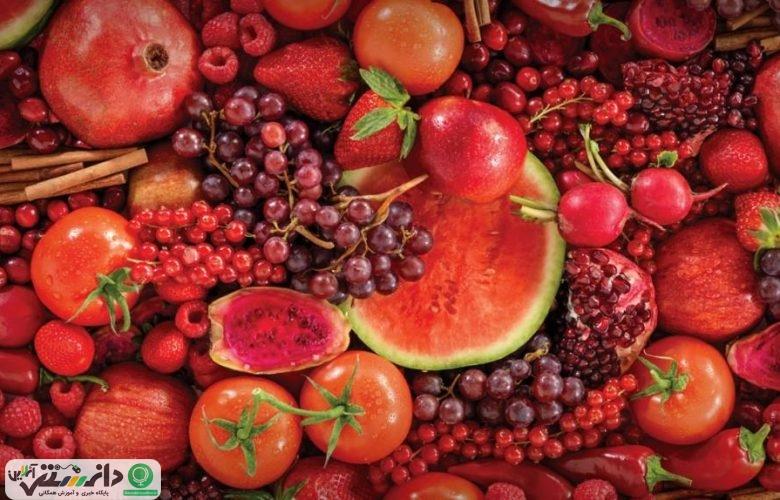 خواص فوق العاده خوراکیهای قرمز +اینفوگرافیک