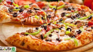 طرز تهیه پیتزای ماهیتابه ای بدون فر