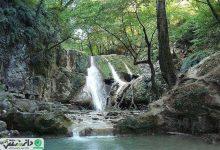 آبشار کفترخانه از جاذبههای گردشگری فارسیان + فیلم