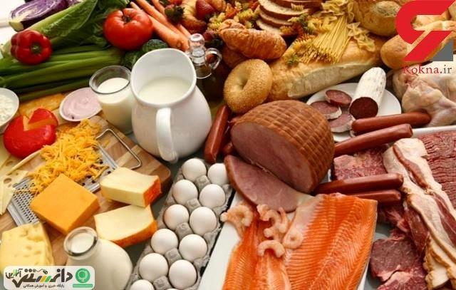 اصول غذایی برای پیشگیری از پیری سلولی