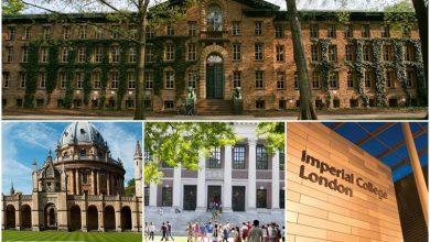 """دانشگاه های برتر جهان از دیدگاه """" اثر تحصیلات در آینده شغلی """" (+عکس)"""