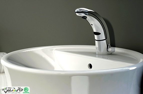صرفهجویی در مصرف آب با نصب شیر آب اتوماتیک