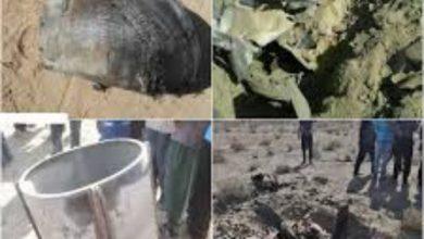 سقوط دو شیء ناشناس در روستای فخرآباد بجستان