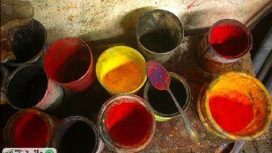 کاربرد رنگزاهای طبیعی در دوران نوسنگی و ساسانیان
