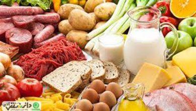 دانستنی های لازم در مورد مواد غذایی مختلف