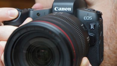 تولید دوربین فول فریم بدون آینه 8K