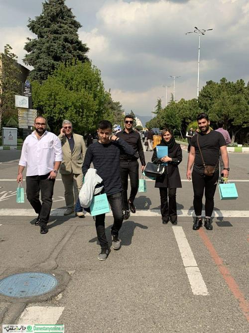 بازدید دانشجویان رشته تبلیغات از نمایشگاه بین المللی کار ایران